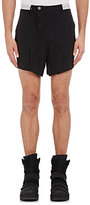 Hood by Air MEN'S SLIT-FRONT SHORTS-BLACK SIZE S