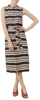 Hobbs London Lotta Striped Shirt Dress