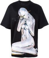 Juun.J uun.J x Hajime Sorayama print T-shirt - men - Cotton - 44