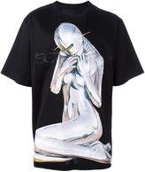 Juun.J uun.J x Hajime Sorayama print T-shirt