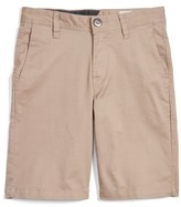 Volcom Boy's Cotton Twill Shorts