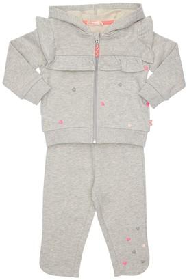 Billieblush Hearts Cotton Sweatshirt & Sweatpants