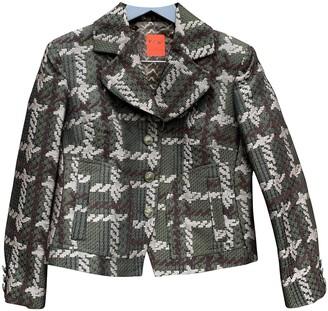 Christian Lacroix Multicolour Wool Jacket for Women Vintage