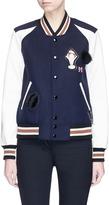 Coach Assorted patch varsity jacket