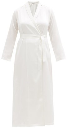 La Perla Silk-satin Robe - Womens - Ivory