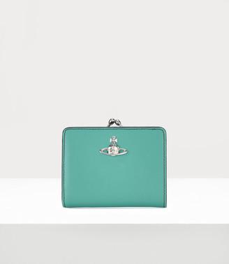 Vivienne Westwood Alex Wallet With Frame Pocket Light Blue