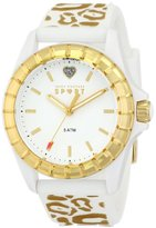 Juicy Couture Women's 1901136 Juicy Sport Analog Display Quartz White Watch