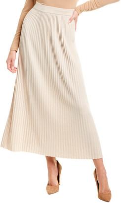 Max Mara Scilla Wool & Cashmere-Blend Midi Skirt