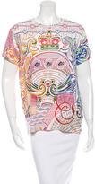 Mary Katrantzou Abstract Print Short Sleeve Top