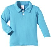 City Threads 2-Button Polo Shirt (Baby) - Sea-18-24 Months