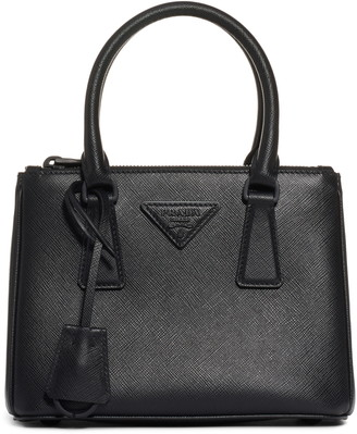 Prada Mini Galleria Saffiano Leather Satchel