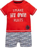 Ladybird Baby Boys' Rules' Romper Set