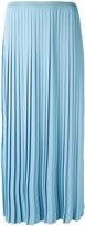 MM6 MAISON MARGIELA pleated skirt - women - Cotton/Polyester/Spandex/Elastane - 42