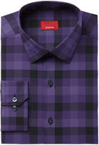 Alfani Men's Slim-Fit Stretch Oversize Pixel Gingham Dress Shirt, Created for Macy's