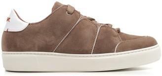 Ermenegildo Zegna Panelled Low-Top Sneakers