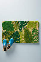 Anthropologie Palm Doormat