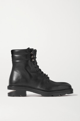 Alexander Wang Andy Leather Ankle Boots - Black