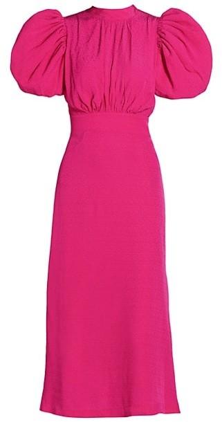 Rotate by Birger Christensen Dawn Puff-Sleeve Dress