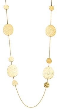 Ippolita 18K Yellow Gold Classico Large Disc Station Necklace, 41