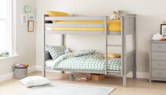 Argos Home Brooklyn Grey Bunk Bed & Kids Mattress
