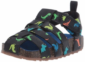 Carter's Boys' Tatum Hook and Loop Fisherman Sandal