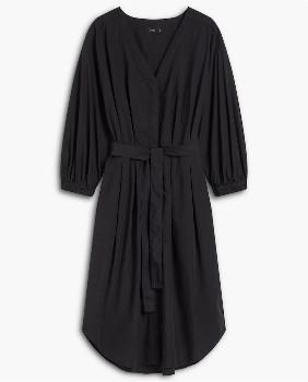 Closed Black Poplin Shirt Dress - XS.