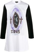 Comme des Garcons Zeus graphic long-sleeve top