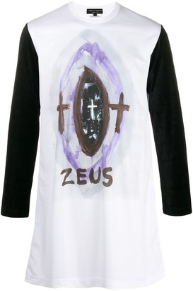 Comme des Garcons Zues graphic long-sleeve top