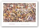 "McGaw Graphics Convergence by Jackson Pollock 21.75""x36.5"" Art Print Poster"