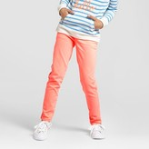 Cat & Jack Girls' Relaxed Chino Pant Cat & Jack - Coral
