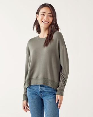 Splendid Supersoft Inlet Pullover