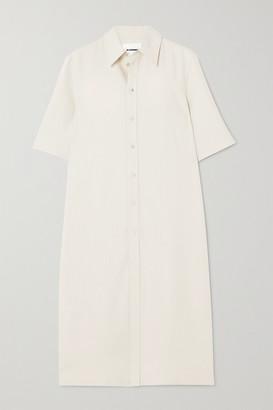Jil Sander Canvas Shirt Dress - Beige