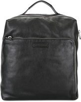 Emporio Armani large backpack - men - Calf Leather - One Size