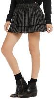 Scotch & Soda Embroidered Mini Skirt