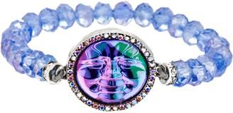 Kirks Folly Seaview Water Moon Crystal Stretch Bracelet