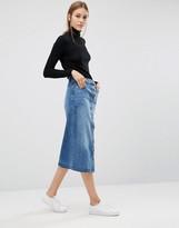 Just Female Pine Midi Skirt