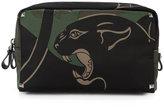 Valentino Garavani Valentino Rockstud panther print wash bag - men - Leather/Polyester - One Size