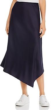 French Connection Ezmay Drape Asymmetric Skirt