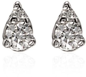 Dana Rebecca Designs Sophia Ryan 14kt white gold teardrop diamond earrings