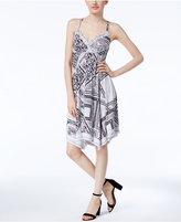 INC International Concepts Handkerchief-Hem Fit & Flare Dress, Created for Macy's