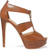 MICHAEL Michael Kors Berkley leather platform sandals
