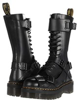 Dr. Martens 1914 Platform Strap Tall (Black) Shoes