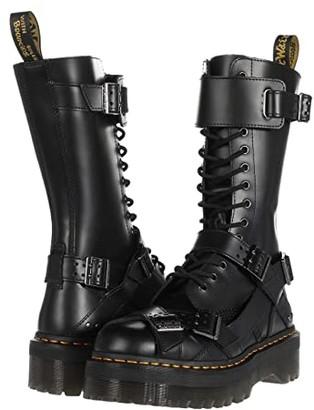 Dr. Martens 1914 Platform Strap Tall (Black) Shoes