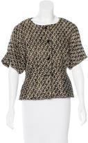 Rachel Comey Wool-Blend Short Sleeve Jacket