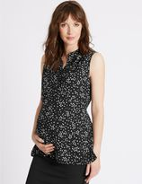 Marks and Spencer Maternity Spotted Blouse with Camisole