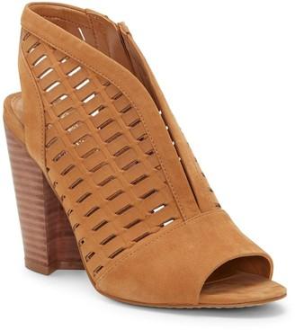 Vince Camuto Korsta Perforated Block Heel Sandal