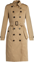 Burberry Sandringham long-length gabardine trench coat