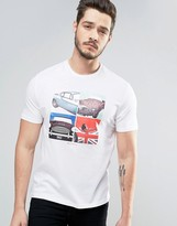 Ben Sherman Car Graphic T-shirt
