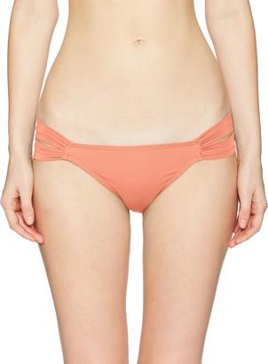 O'Neill Women Salt Water Solids Tab Side Bikini Bottom Swimsuit