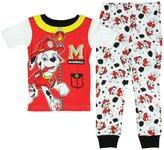 Nickelodeon Paw Patrol Little Boys Toddler Marshall Cotton Pajama Set (T)